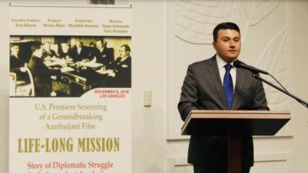 کالیفورنییادا آذربایجانین ۱۰۰ ایللیی کئچیریلدی