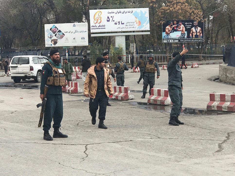 Əfqanıstanın paytaxtında güclü partlayış