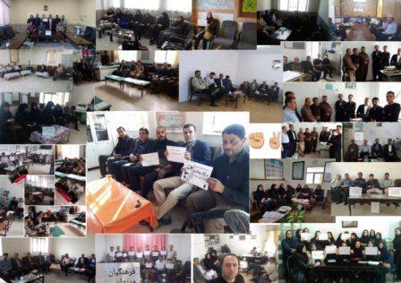 ایراندا معلملر یئنیدن کوتلوی تعطیله باشلادیلار - فوتو