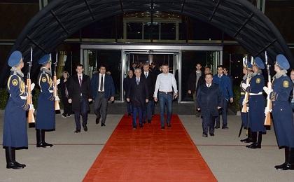Slovakiya baş nazirinin Bakıya səfəri başa çatdı - Foto