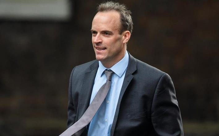 Brexit secretary Dominic Raab resigns