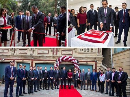 """""""Kapital Bank"""" yeni Neftçilər Kart Mərkəzi filialını istifadəyə verdi"""