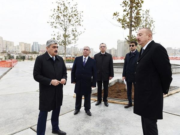 President viewed  redevelopment of Tazapir mosque - Photo