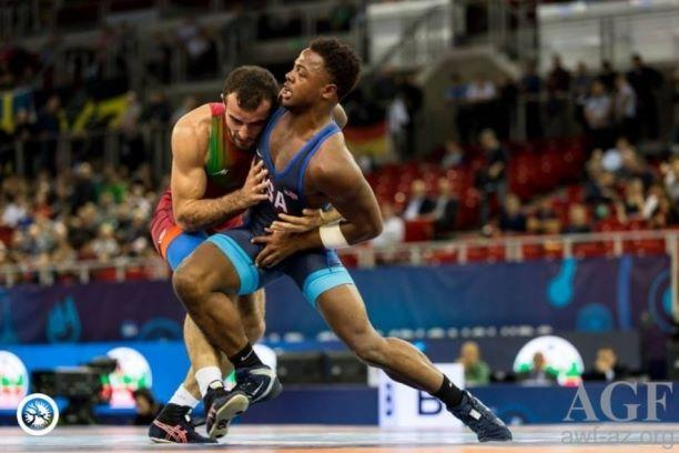Azerbaijani U23 wrestlers clinch three world medals