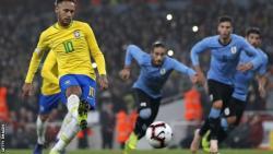 Neymar earns Brazil wins against Uruguay