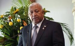 Fiji prime minister narrowly wins election to serve