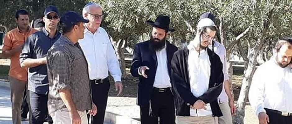 İsrailli nazir məscidə basqın etdi: planın bir parçası...