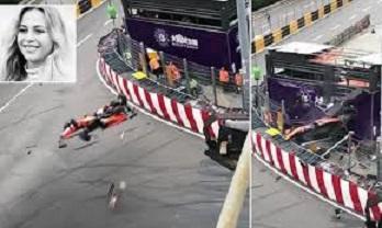 Formula-3 yarışmasındakı dəhşətli qəza anı – Video