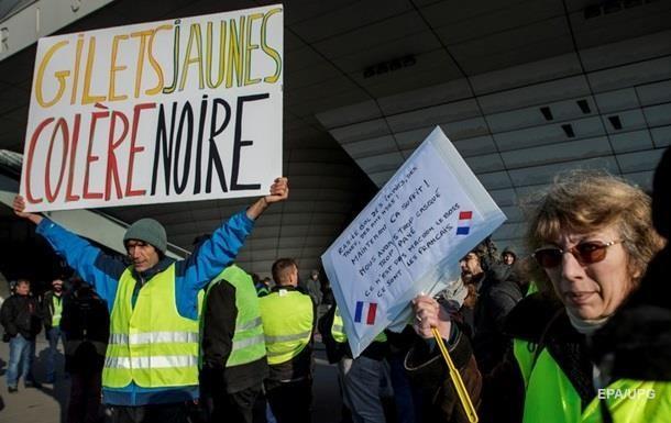 При протестах во Франции пострадали 406 человек