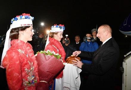 Ильхам Алиев в Минске: Программа визита - Фото