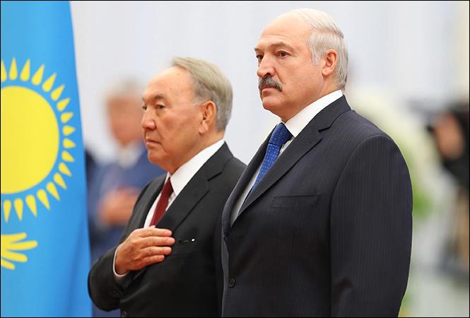 Лукашенко и Назарбаева объявили агентами Израиля и Турции