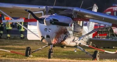 Два самолета столкнулись в небе над Германией