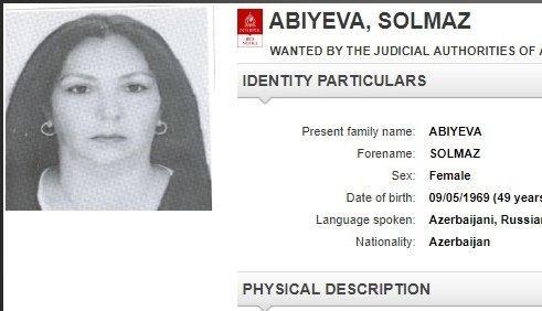 Solmaz Əbiyeva Pakistanda həbs edildi