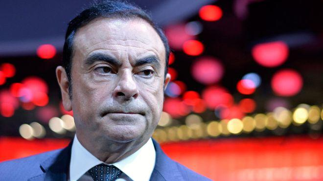 Nissan boss Carlos Ghosn arrested over 'misconduct'