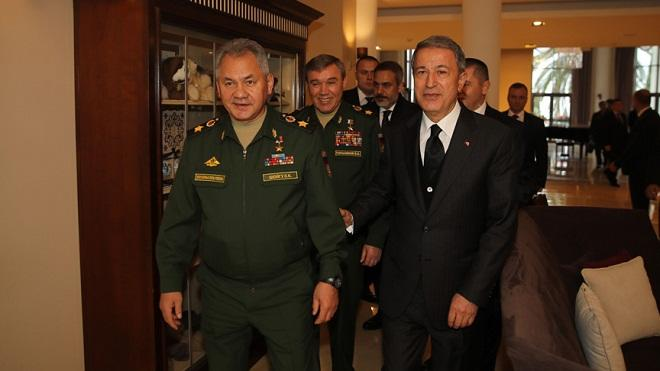 Shoigu said to Akar: What was discussed?