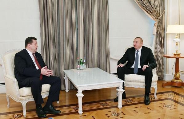 İlham Əliyev Vladimir Solovyovla görüşdü