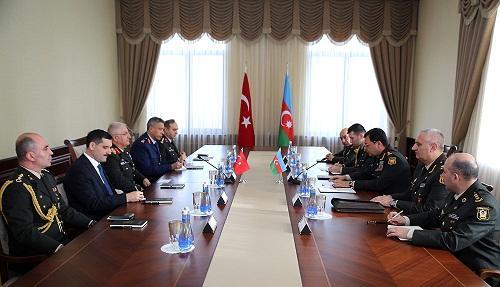 Встретились начальники генштабов Азербайджана и Турции