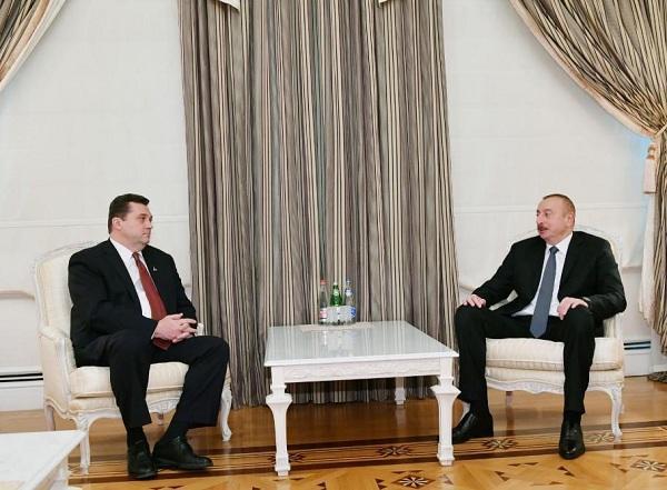 Ильхам Алиев принял Владимира Соловьева