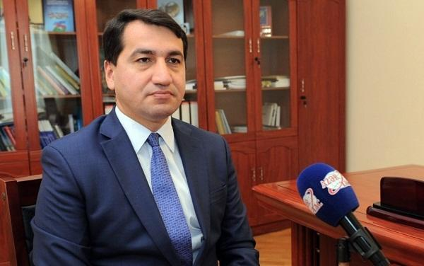 "Hajiyev: Pashinyan was required to answer ""yes"" or ""no"""