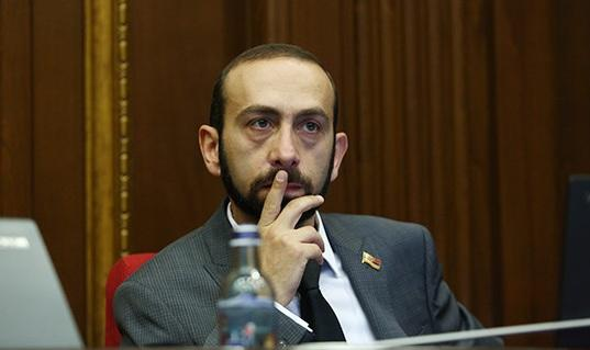 Coronavirus tension in the Armenian parliament