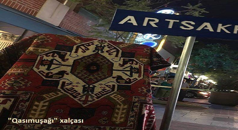 Ermənistan Mərkəzi Bankından Bakıya təxribat - Foto