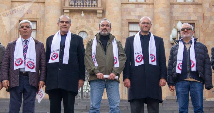 """""""Сасна Црер"""" собирает подписи по присоединению Карабаха"""