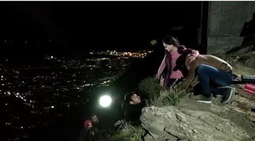 Azərbaycanlı aktrisa uçurumdan yıxılacaqdı – Foto
