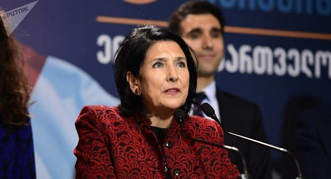 Бесплатный президент Грузии