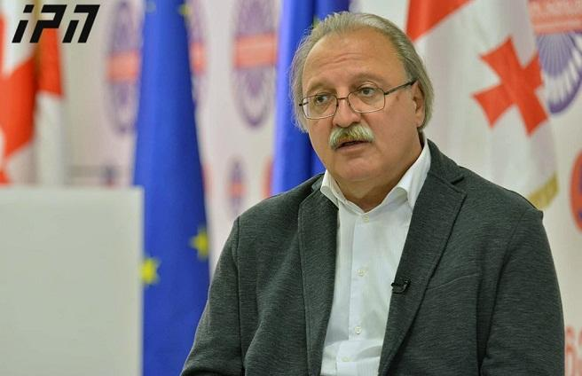 "حاکمیت ""بولشویک"" تررورونا باشلاییب - واشادزه"