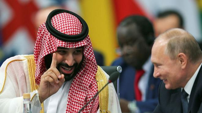 Saudi crown prince holds official talks with Putin