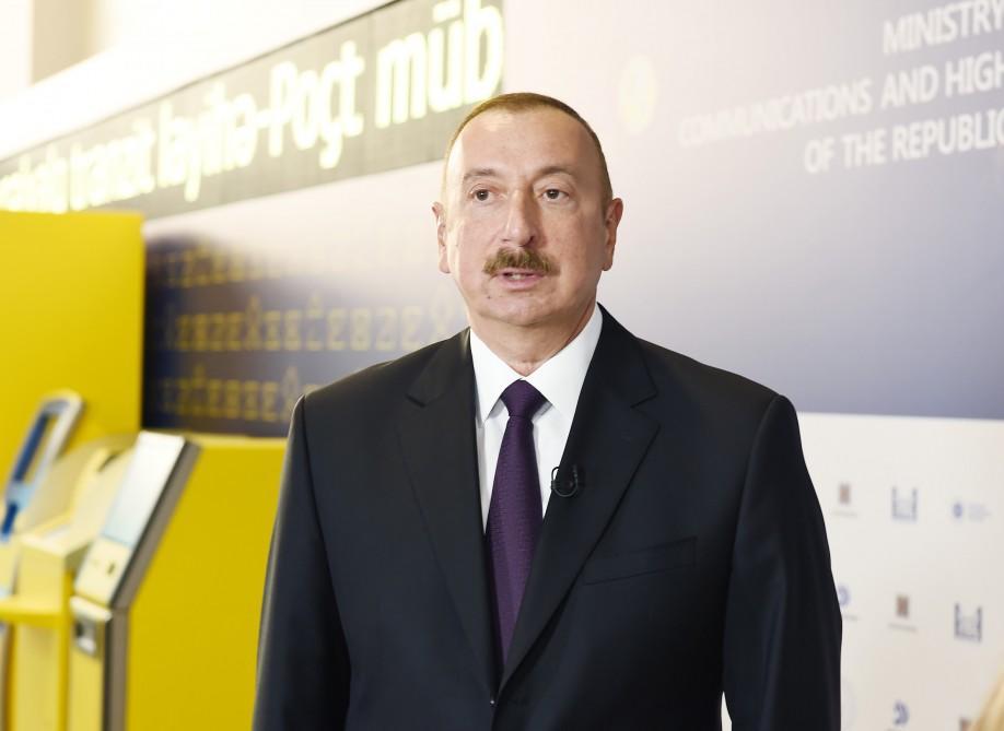 Pompeodan İlham Əliyevə məktub