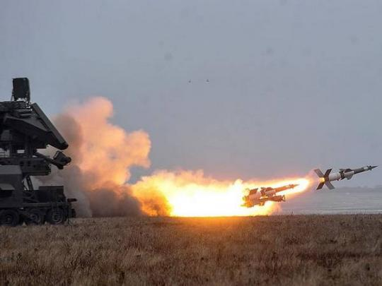 Ukraine deploys these missiles in the Black Sea