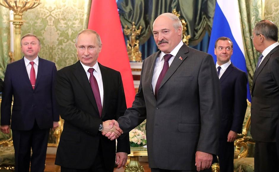 Has Lukashenko Infected Putin with coronavirus?