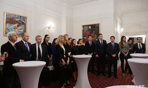 Londonda Heydər Əliyevin xatirəsi anıldı - Video