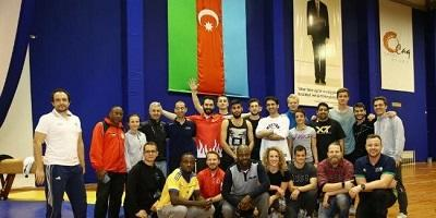 Presentation courses on parkour gymnastics held in Baku -