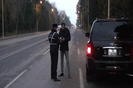Azərbaycanda 100-dən çox sürücü saxlanıldı - Video