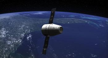 SpaceX dragon cargo spacecraft arrives at ISS