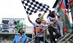 2019 Formula 1 Azerbaijan Grand Prix continues