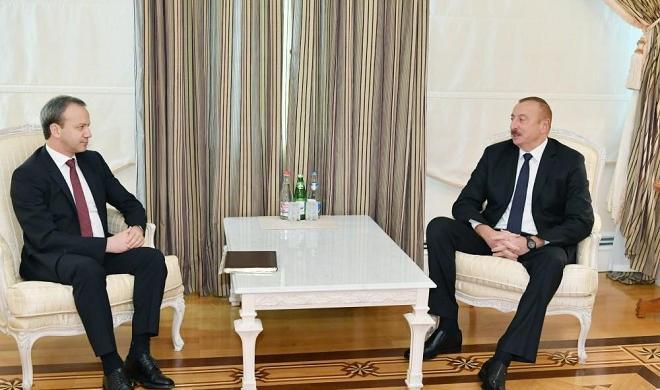 President Aliyev receives delegation led by FIDE president
