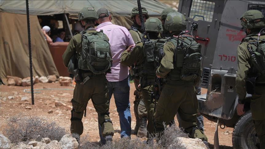 Israel arrests 16 Palestinians in West Bank raids