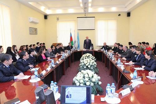 Gömrük Akademiyasında Heydər Əliyev anıldı - Foto