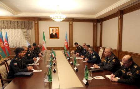 Закир Гасанов встретился с иранским генералом