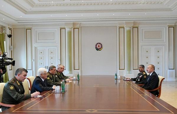 President Ilham Aliyev received delegation