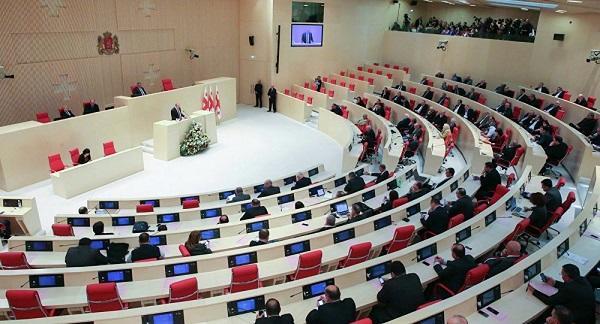 Депутаты парламента Грузии сцепились