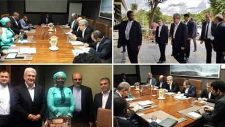 ایران و  جنوبی آفریکا علاقهلری اینکیشاف ائدیر