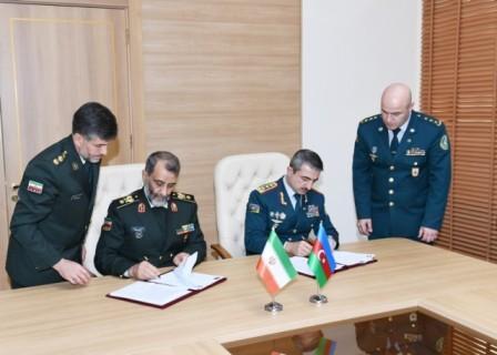آذربایجان ایله ایران آراسیندا پروتوکول ایمضالاندی