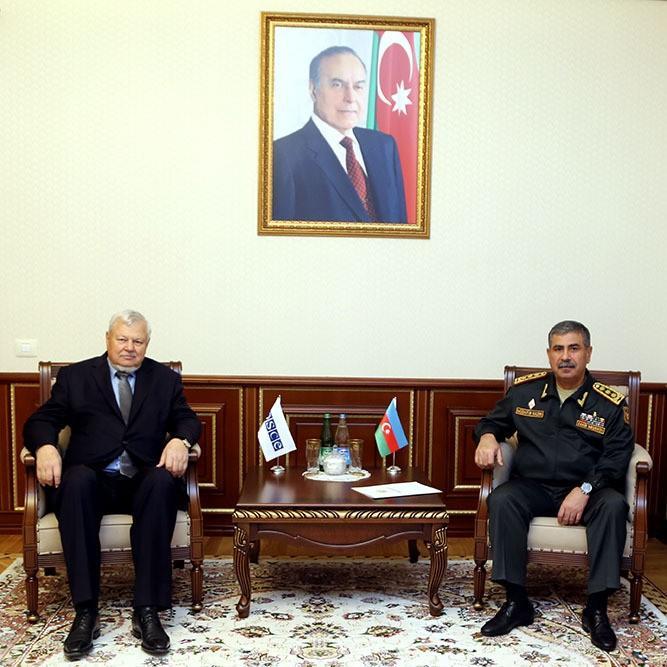 Закир Гасанов на переговорах по Карабаху