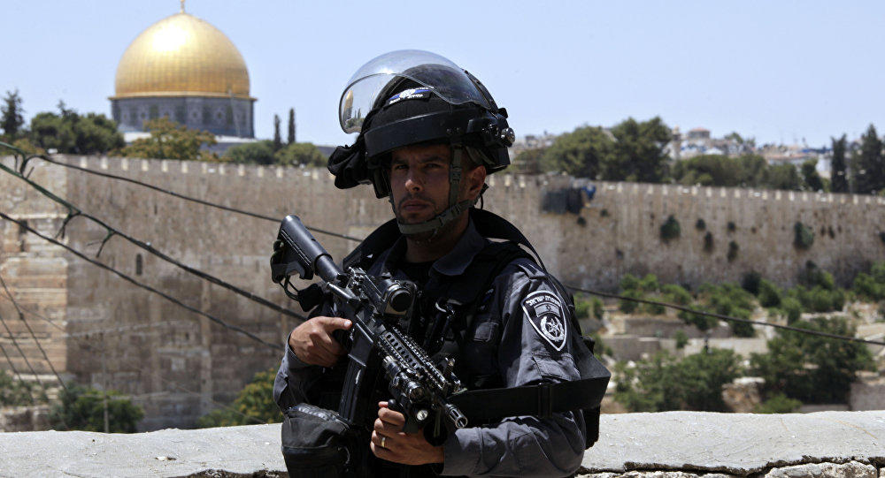 Two officers stabbed in old city of Jerusalem