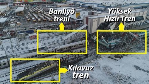 Ankarada dəhşətli qatar qəzası: 7 ölü, 46 yaralı - Video