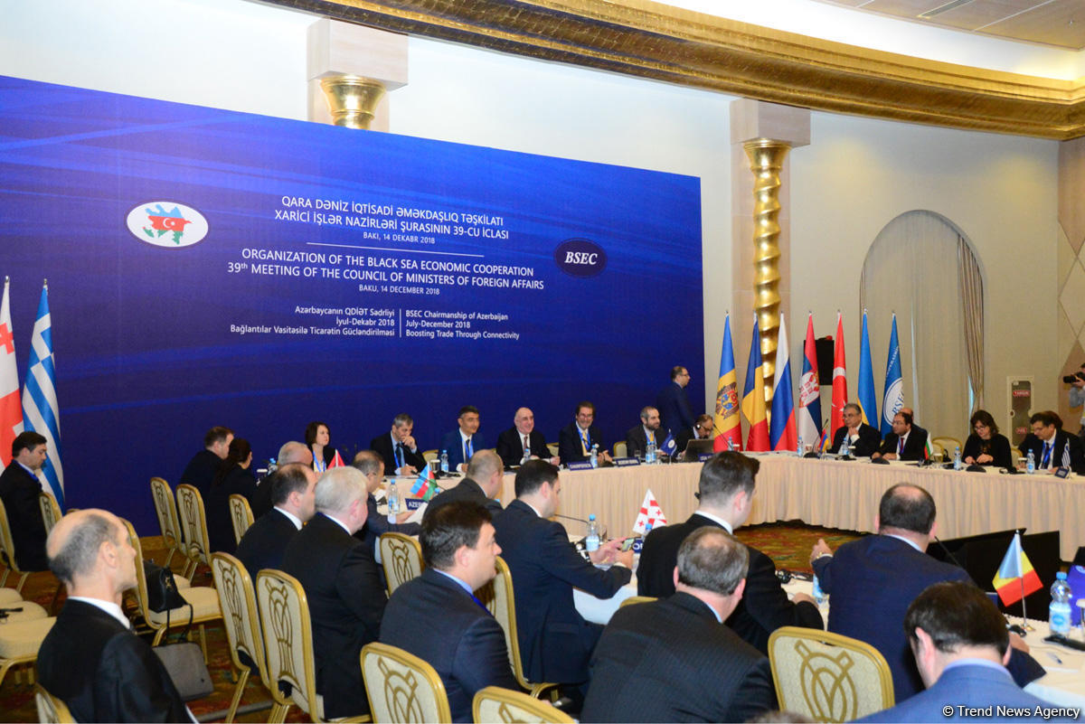 Meeting of Council of BSEC FMs held in Baku
